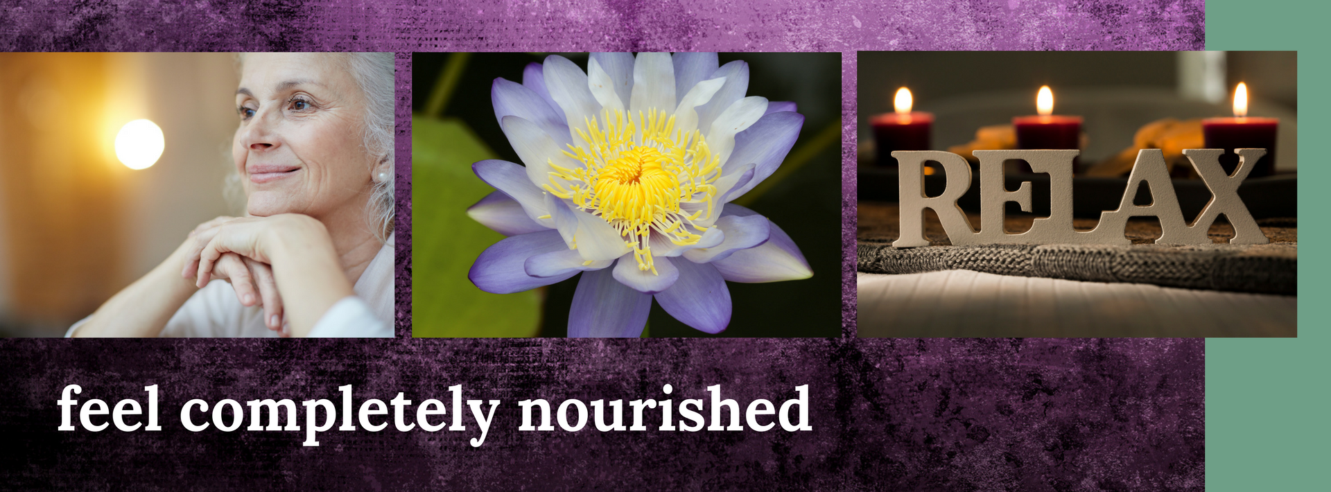 Angelique Bavich | therapeutic moondance website banner multi + bunbury massage therapy reflexology